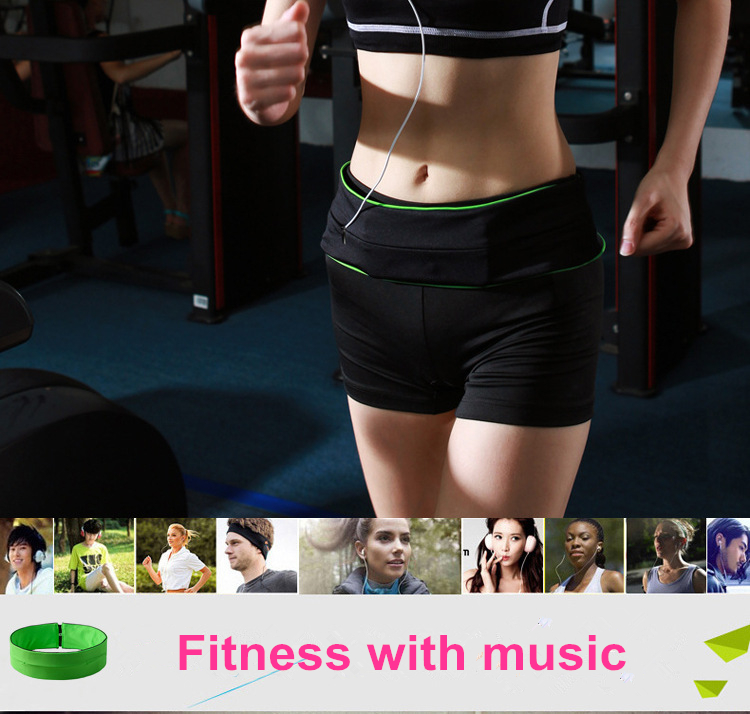 WOSAWE Outdoor Running Waist Bag Mobile Phone Holder Jogging Belt Belly Bag Women Gym Fitness Bag Lady Sport Accessories 8