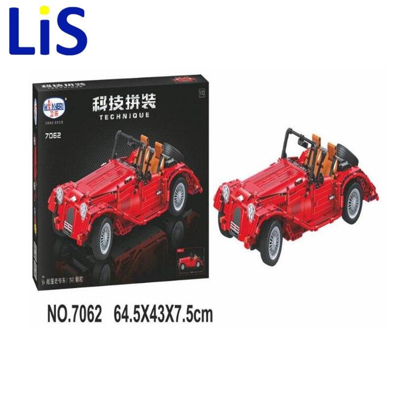 (Lis)7062 Technic convertible car building bricks blocks toys for children Boy Game Bela