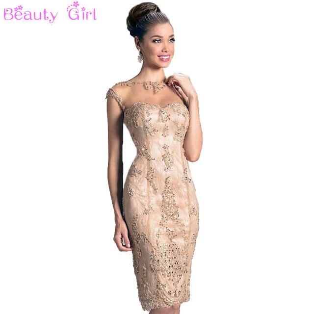 Vestido mae da noiva 2017 Elegante Cordón de La Envoltura Del O ...