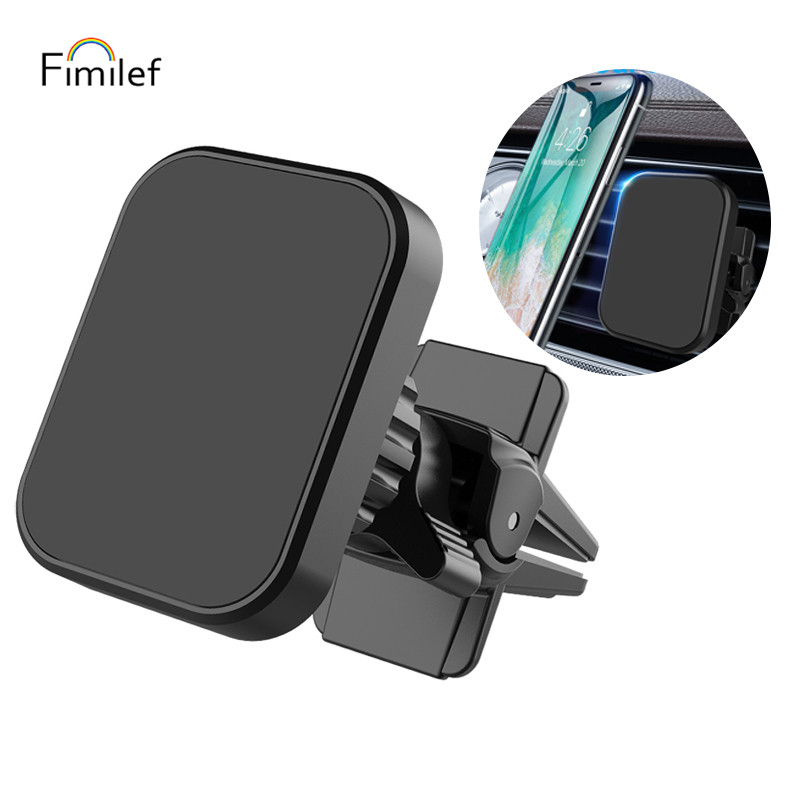 Fimilef Magnetic Phone Holder For Phone In Car Air Vent Mount Universal Mobile Smartphone Stand Magnet Support Cell Holder
