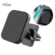 Fimilef Magnetic Phone Holder For In Car Air Vent Mount Universal Mobile Smartphone Stand Magnet Support Cell