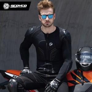 Image 5 - SCOYCO Motorcycle Jacket Protective Gear Motocross Protection Moto Jacket Motorcycle Armor Racing Body Armor Black Moto Armor