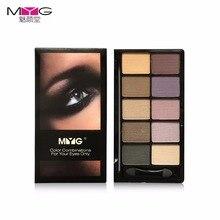 10 colors High-quality eyeshadow pallete make up palette glitter eye shadow