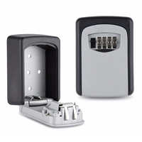 Vault Combination 4 Pin Lock Wall Mounted for Maximum Security Master Heavy Duty Slimline Keys Storage System