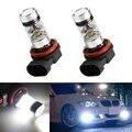 2x H11 Светодиодный canbus 3030 лампы отражатель зеркальный дизайн для противотуманных фар для BMW E39 325 328 M mini SPORT
