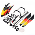 RC toys WL V913 Rc helicopter spare parts kit RC Quadcopter Accessories Kit Set Canopy Blades Landing Skid Gear