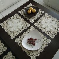 Rustico stoffa ricamata tavolo da pranzo tovaglia tovaglietta tovagliolo vassoio telo di copertura ritaglio tovaglia
