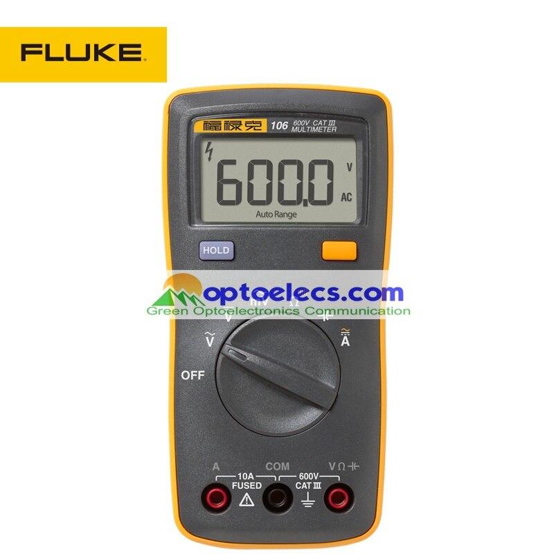 bilder für Freies Verschiffen FLUKE F106 handtellergroße/Tragbare/Handheld Digital-Multimeter Kompakt und Leicht