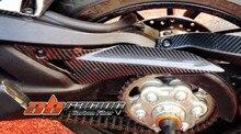 Protetor de corrente Para a Ducati Multistrada 1200 2010-2013 Fibra De Carbono Total 100% Sarja