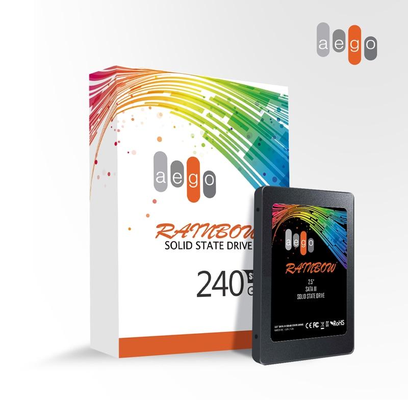 AEGO New Arrival 3D TLC Flash Disk 240GB SSD SATA3 2 5 internal SSD HD HDD