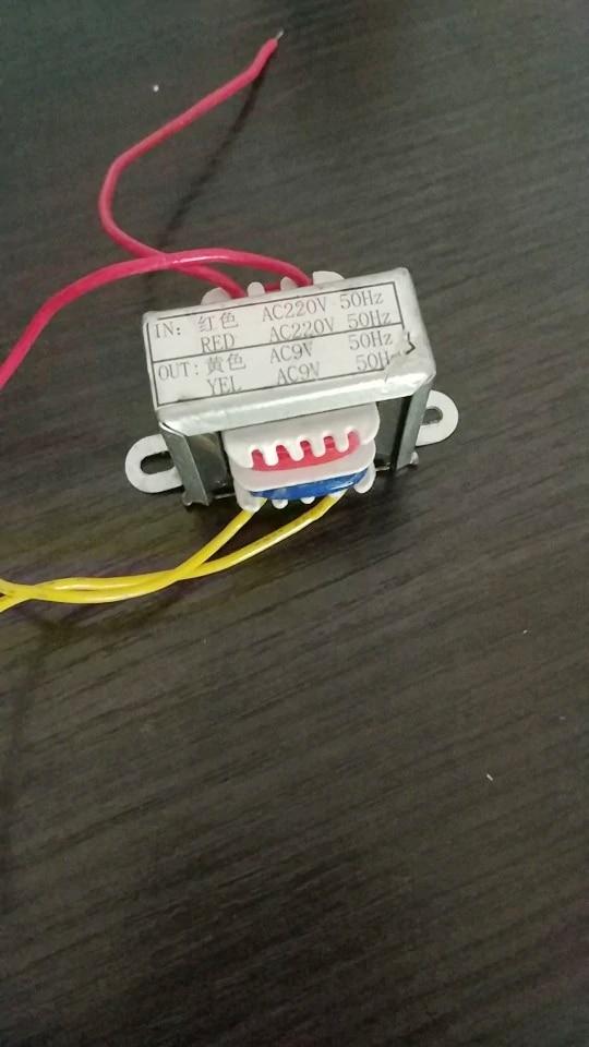 AC 220 v zu AC 9 v Netzteil transformator Für Spot Schweißen Controller