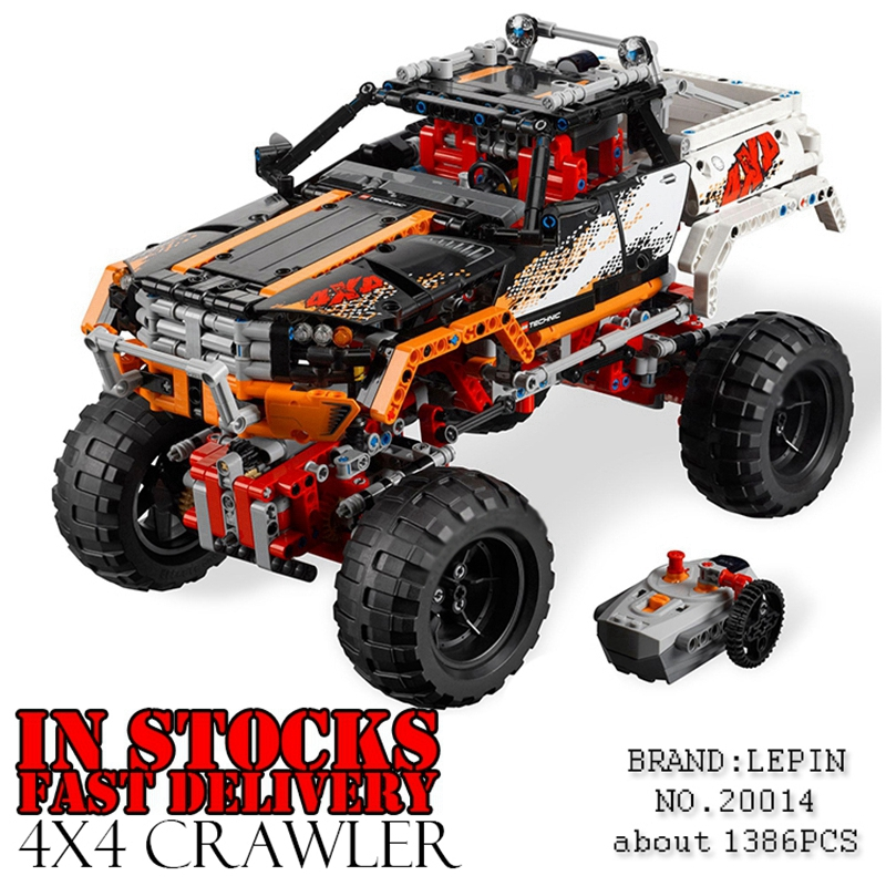 Lepin 20014 Technic Series Ultimate Version The Remote-Control Four-Wheel Drive Off-road Vehicles Building Block Brick Toys 9398 элтон джон elton john goodbye yellow brick road deluxe edition 2 cd