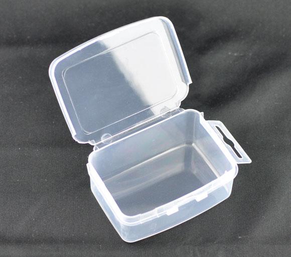 Plastic Storage Containers Rectangle Transparent 7.3cm(2 7/8