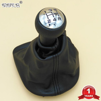 Gear Shift Knob For Peugeot 206 306 307 308 3008 For Citroen C2 C4 Picasso 5