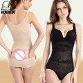 Uma peça abdômen desenho butt-lifting shaper moda sexy marca ultra-fino sem costura pós-parto roupas peso de roupa interior feminina