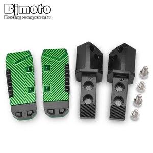 Image 4 - 2 قطعة دراجة نارية الخلفي الركاب القدم الدواسات مسند القدمين أوتاد القدم لكاواساكي Z900 RS Z650 Z750 Z800 Z1000 SX Versys650 Ninja650