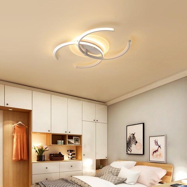 Chandelierrec Moderne Led deckenleuchten Für Wohnzimmer Schlafzimmer Dekor  Hause Beleuchtung Decke Lampen plexiglas decke leuchten