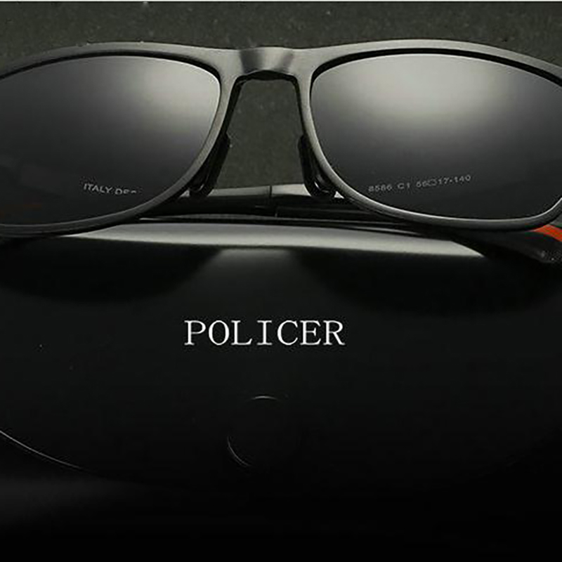 93825c16d2b4d POLICER 2018 Sapo polarizador Polaroid Óculos De Sol óculos de Sol dos  homens de condução os óculos de sol do Metal da liga 8810 em Óculos de sol  de Dos ...