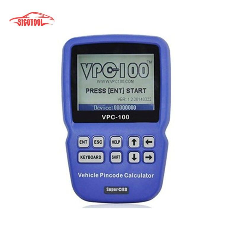Original VPC-100 Pin Code Calculator Hand-Held With 500 Tokens VPC 100 VPC100 Car Calculator