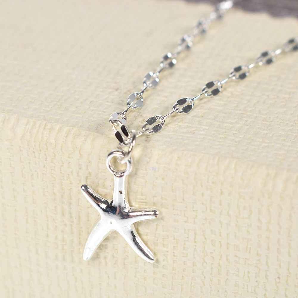 Boho rozgwiazda kobiety Anklet łańcuszek na kostkę biżuteria bransoletka na kostkę Femme Cheville Bijoux Pulseras Tobilleras Mujer Enkelbandje