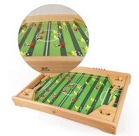 Футбол настольная игра детская настольная Футбол игрушки для взрослых игра головоломка Desktop родитель ребенок интерактивные игры игрушки