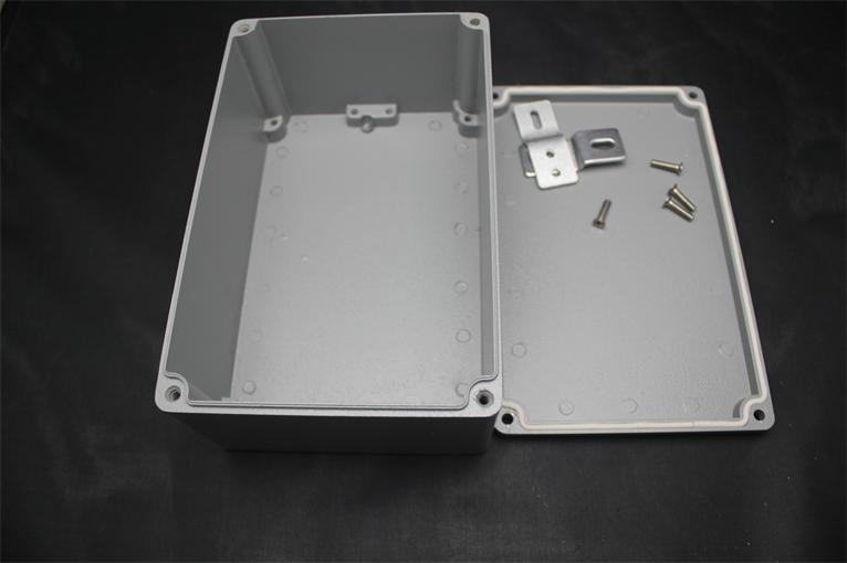 Boîte en aluminium de boîtier d'extrusion d'effets de 188*120*78 MM