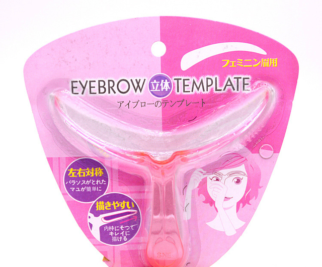 3D Thrush Card Threading Eyebrow Makeup Tools Threading Artifact Thrush Aid Card Eyebrows Mold Cosmetic Accessories 5