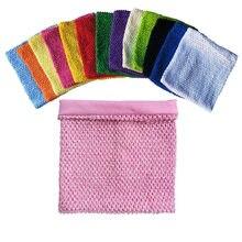 Tube de Tutu tricoté avec doublure élastique intérieure pour fille, rouleau de Tulle fait à la main, accessoires de jupe, bricolage, 23x25cm, 10 pouces, 1 pièce