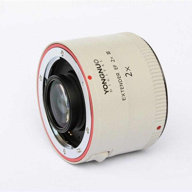 YONGNUO Teleconverter YN-2.0X III PRO 2x Teleconverter Extender Auto Focus Mount Lens Camera Lens for Canon EOS EF Lens цена