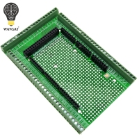 WAVGAT Double Side PCB Prototype Screw Terminal Block Shield Board Kit For MEGA 2560 Mega 2560