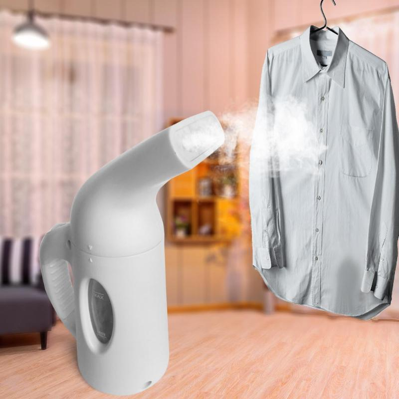 купить 850W 120ML Handheld Mini Steam Iron Portable Garment Steamer Clothes Iron Steamer Brush for Household Appliance Cleaning Brush в интернет-магазине
