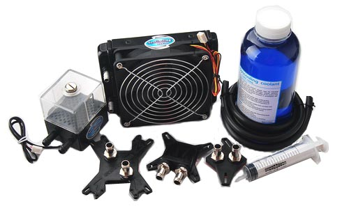 Computer & Office Brilliant Syscooling Uranus Ii Water Cooling Kit For Computer Cpu Gpu With Traditional Methods Fan Cooling