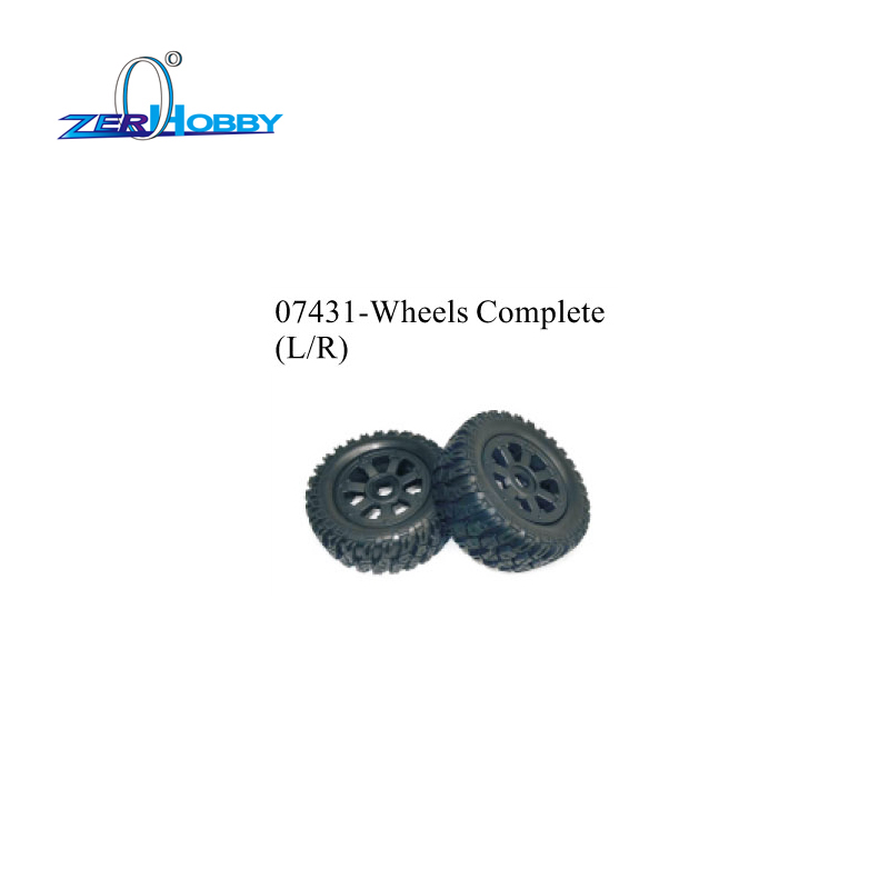 HSP 07430 TIRES AND INSERT SPONGE AND 07431 WHEELS FOR 1 5 GAS POWER RALLY RACING CAR 94076 SPARE PARTS REPLACEMENT ACCESSORIES in Parts Accessories from Toys Hobbies