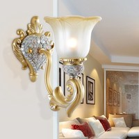Chinese Indoor Lighting Personality Bedside Lamp Modern Wall Lamp European Retro Wall Lamp Wall Lights For Bedroom Mirror Lights