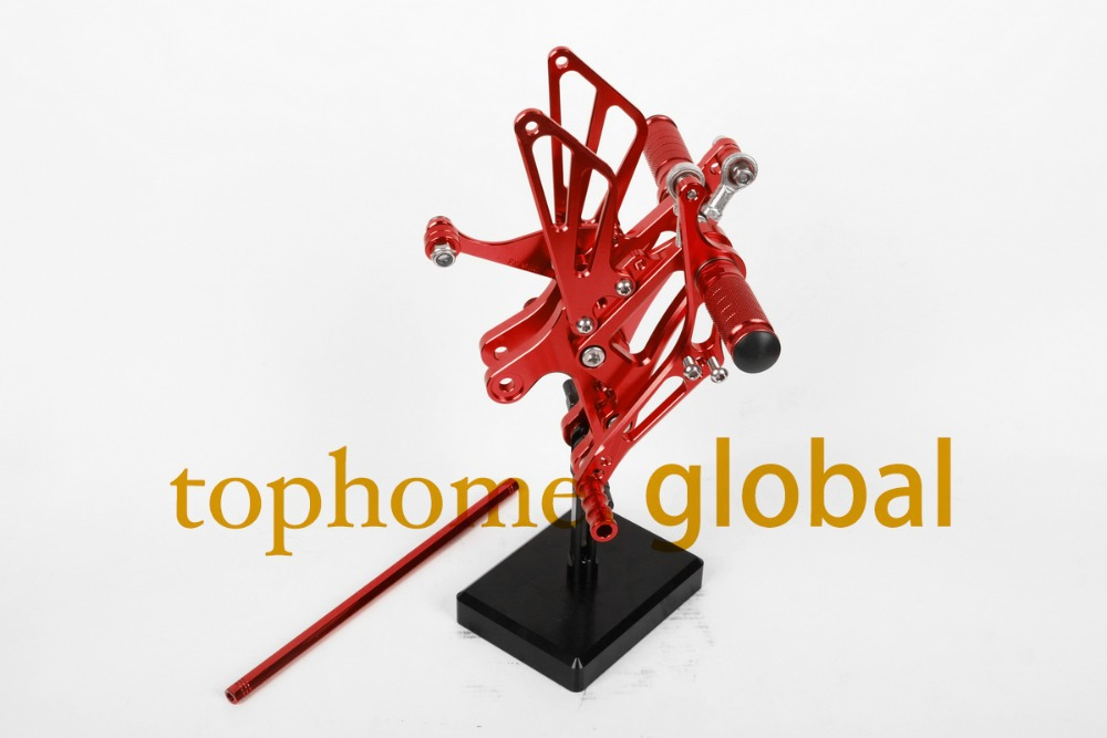 For Yamaha YZF R1 1998 - 2003 Motorcycle Red CNC Rearsets Foot Pegs Rear Set Footpeg 2002 2001 2000 1999