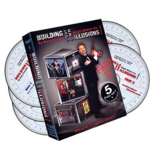 Building Your Own Illusions Part 2 The Complete Course (1-6) by Gerry Frenette - Magic tricks image