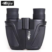Профессиональный портативный бинокль BIJIA 12x25 Porro, телескоп для охоты и спорта