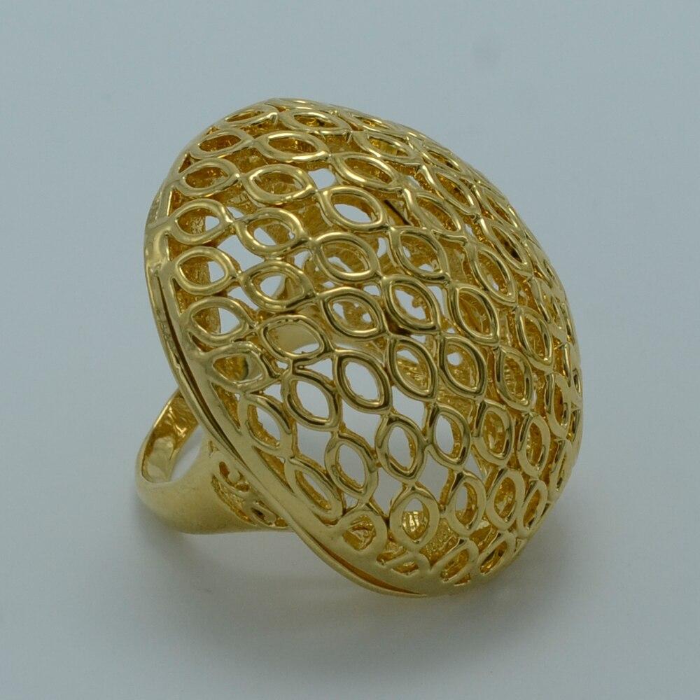 Anniyo ONE PIECE/Big Ring Ethiopian Women,Gold Color