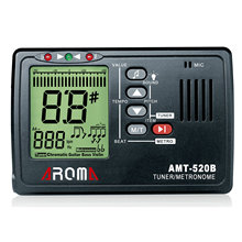 AROMA AMT-520B Guitar 3 in 1 Tuner Metronome Violin LCD Guzheng Tuning Free Shipping