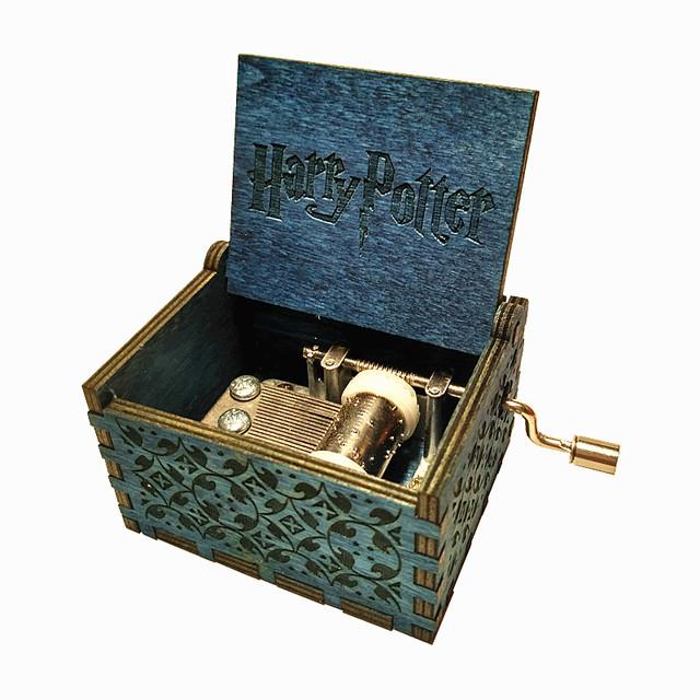Harry Potter Blue Wooden Music Box
