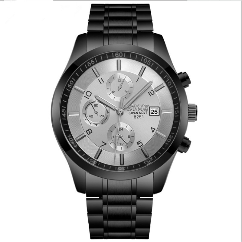 Watch men's full automatic mechanical watch men's watch fashion out of the leisure and waterproof tide men's watch. rakesh kumar and shashank singh mechanical cultivation of rice under puddle and unpuddle condition
