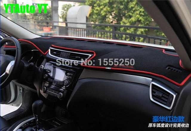 Auto dashboard mat instrument desk pad for toyota corolla 2014 2015, free shipping