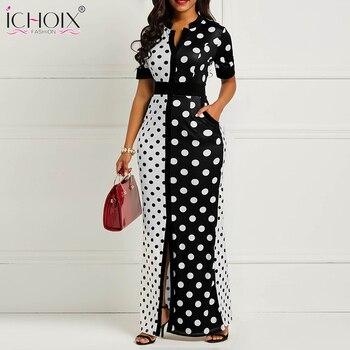 13c38567731 Летнее женское винтажное длинное платье повседневное черное платье в ...