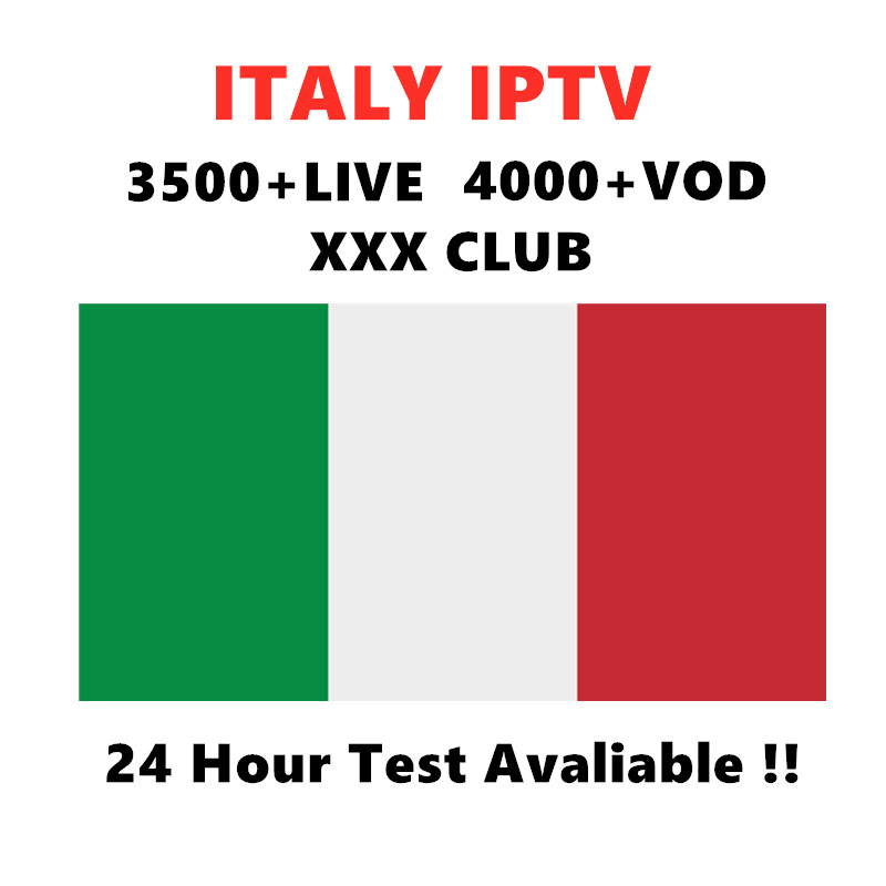 Italy IPTV Subscription M3U for IPTV Italy suport Andorid Enigma2 MAG Smart tv PC