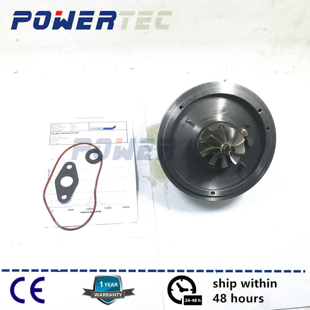 Turbocharger cartridge core GT1752V turbo CHRA For BMW 520d E60 E61 M47D20 120Kw 2005-2007 762965 762965-5017S 11657794022