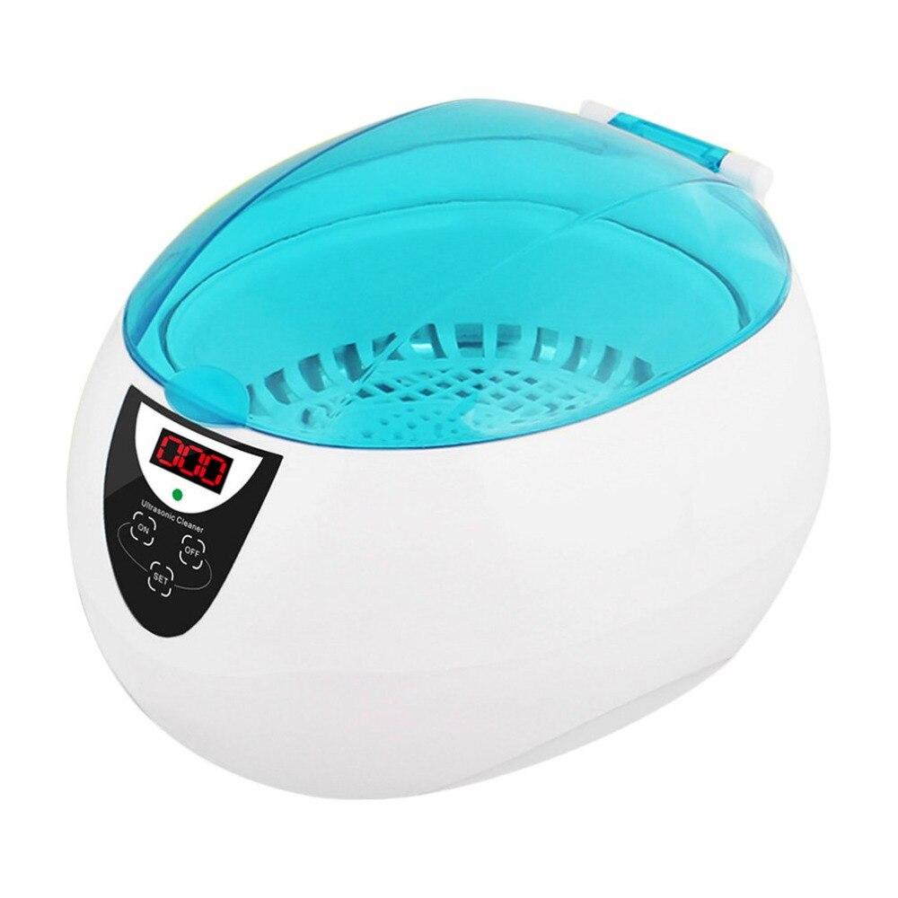 750 ML nettoyeur à ultrasons stérilisateur professionnel lavage manucure Machine pots nettoyeurs bijoux montres lunettes équipement 50 w