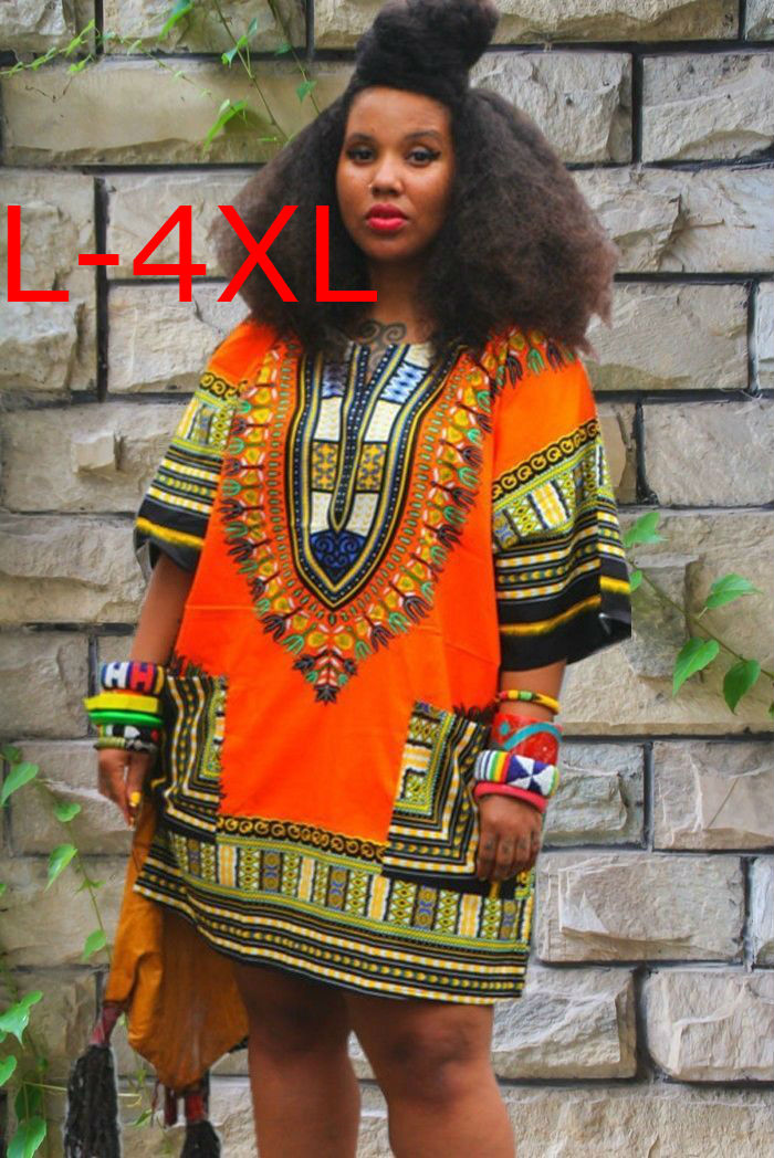 5XL Cotton plus size African clothing traditional print Kids ...