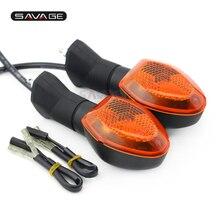 Luce di Segnale di girata Per Suzuki SFV 650 Gladius GSX650F 1250 FA DRZ 400 S M SV650 Accessori Moto Lampada Lampeggiante anteriore Posteriore