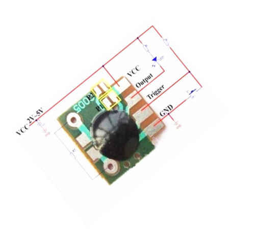 5 STKS Multifunctionele Vertraging Trigger ChipTiming Mudule Timer IC Timing 2 s-1000 h