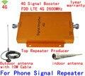 1 conjunto 4G LTE Sinal De Reforço Repetidor 4G 2600 Mhz Ganho de 65 dB 4g Amplificador Booster de Sinal 4G Amplificador de Sinal de Telefonia móvel Repetidor